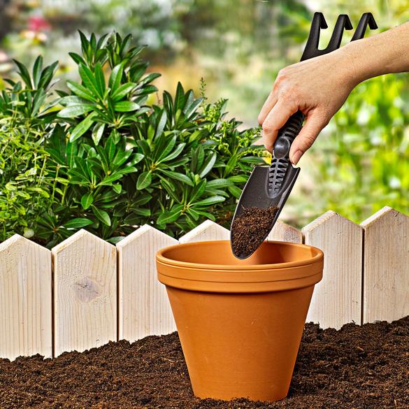 Outil de jardinage 2 en 1