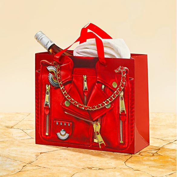 Pochette cadeau Veste, rouge