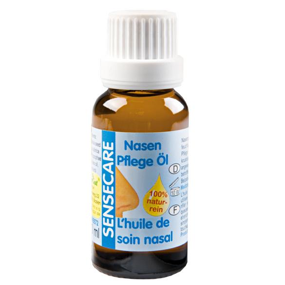 Huile de soin nasal