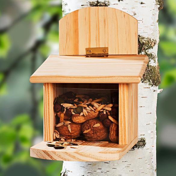 Maisonnette à écureuils