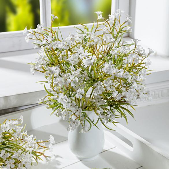 Bouquet de fleurs des champs, blanc