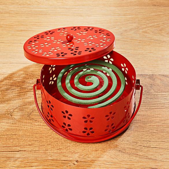 Diffuseur pour spirales anti-insectes, rouge