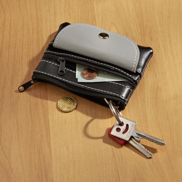 Portemonnaie + étui à clefs 2 en 1