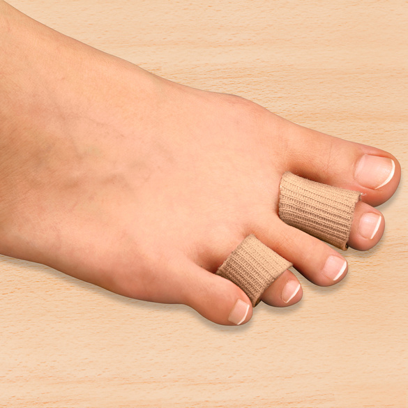 Lot de 2 protections d'orteils à découper