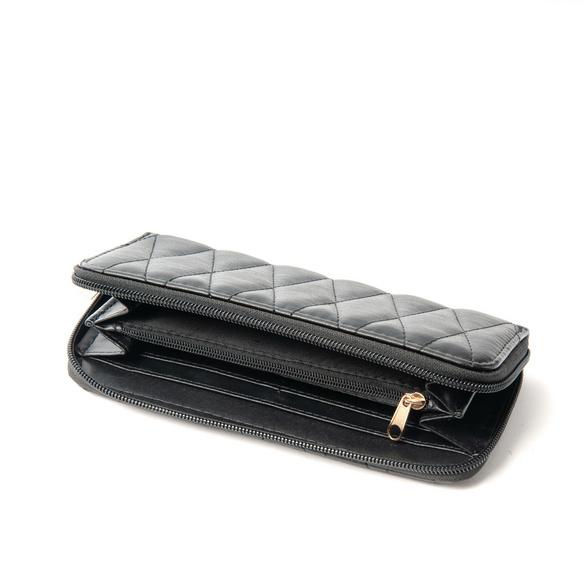 Portemonnaie, noir