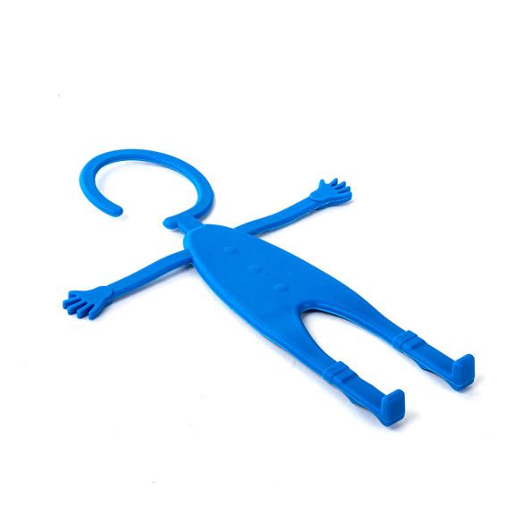 Serviteur pour mobile, bleu
