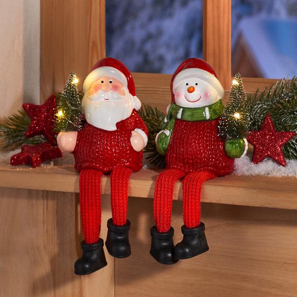 Décoration LED Père Noël
