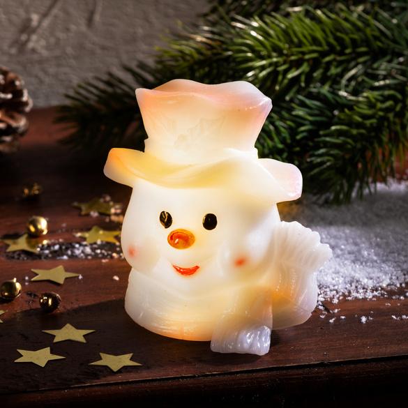 Bonhomme de neige LED