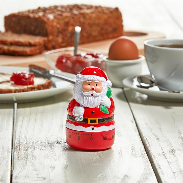 Minuteur cuisine Père Noël