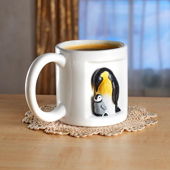 Mug Pingouin 3D