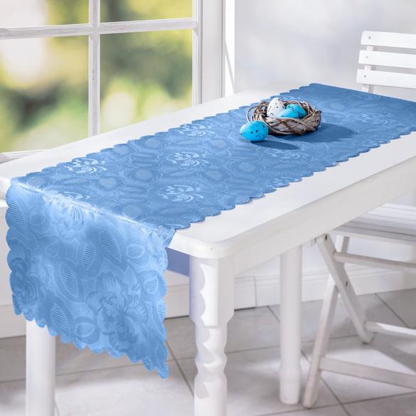 Nappe Jasmin 40x140cm, bleu ciel