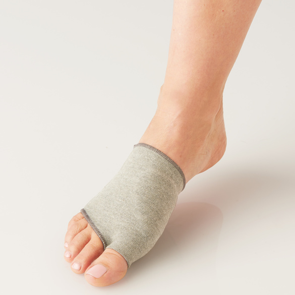 Coussinet gel au cuivre pour l'avant-pied