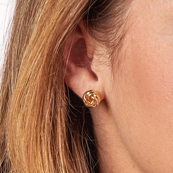 Boucles d'oreilles, or
