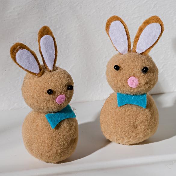 Lot de 2 lapins