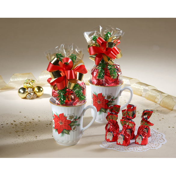 Tasse poinsettias