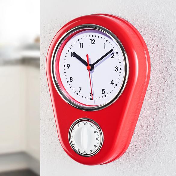Horloge de cuisine avec minuteur