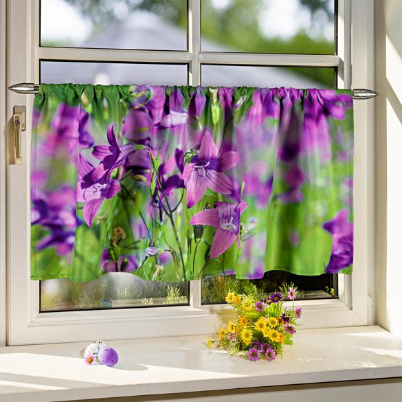 Brise-bise fleurs de lys