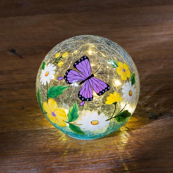 Boule LED Papillon