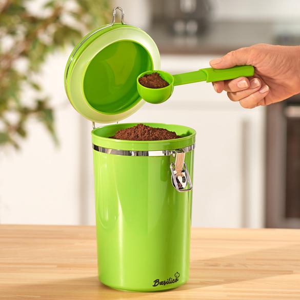 Boîte à café Basilico, vert
