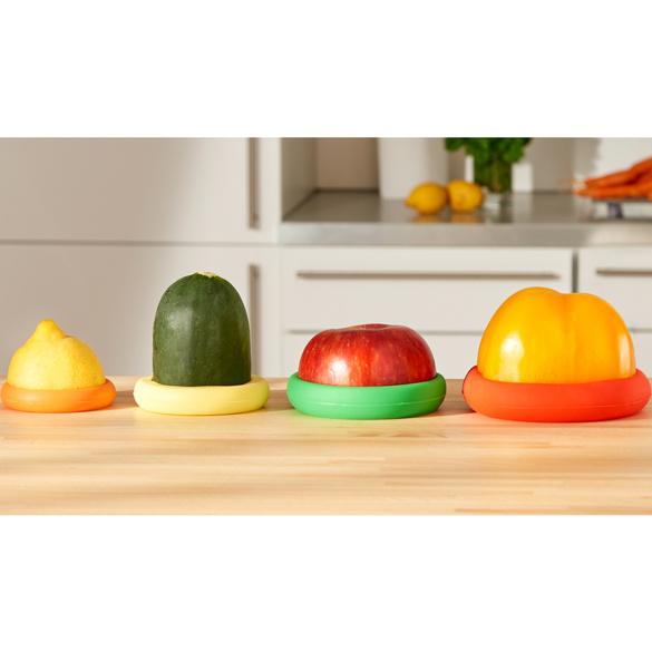 Lot de 4 cloches pour fruits et légumes