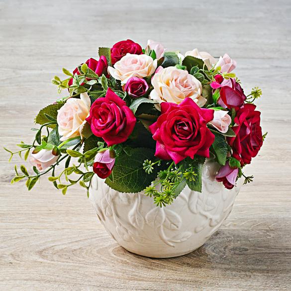 Bouquet de roses, rosé