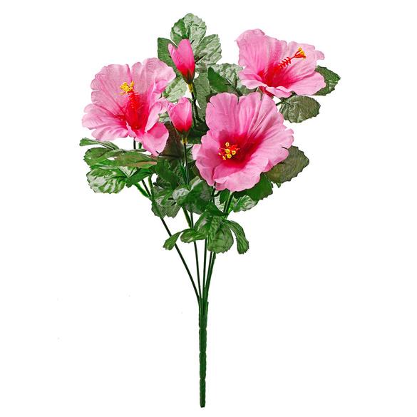 Bouquet d'hibiscus, fuchsia