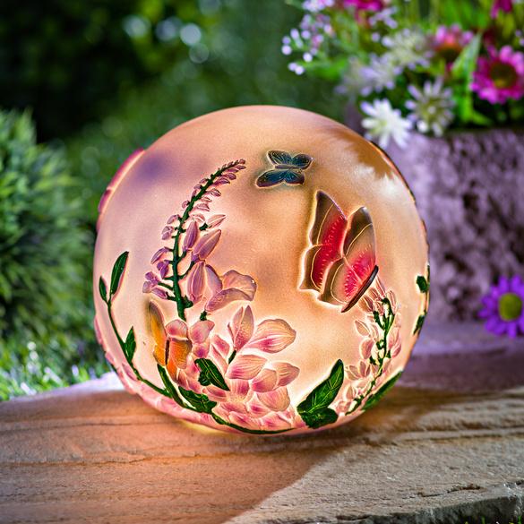 Boule LED Papillons