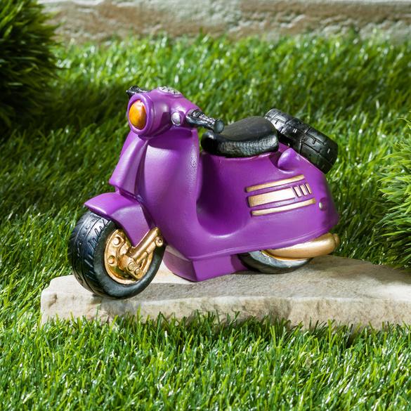 Tirelire Scooter, violet