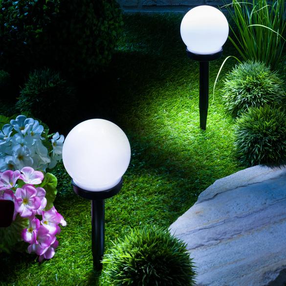 Piquet de jardin Boule solaire