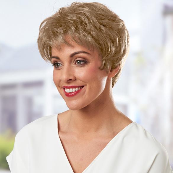 Perruque, blond cendré