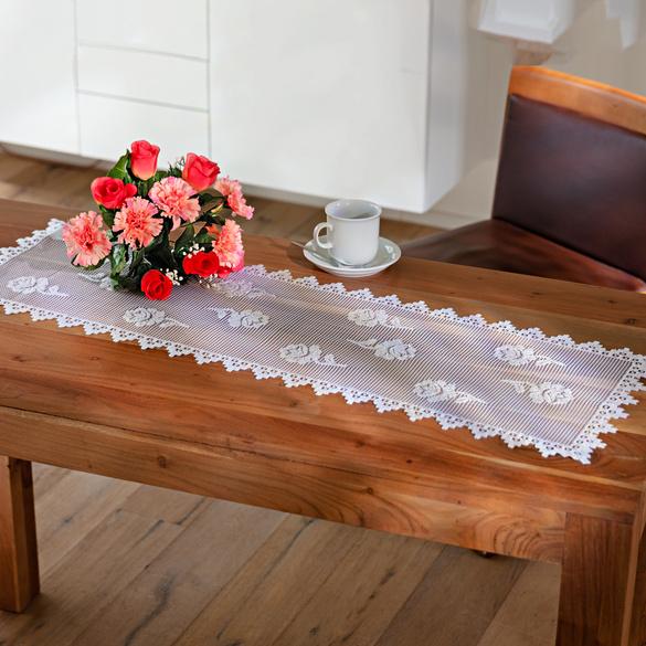 Chemin de table style campagne