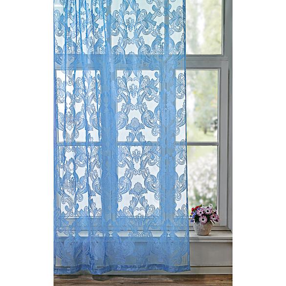 Rideaux bleu 140x230cm