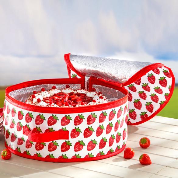 Glacière pour gâteau Fraises