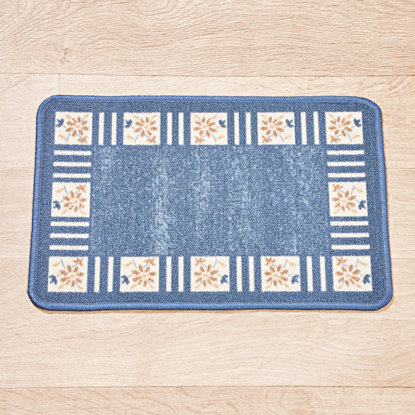 Tapis carreaux 40x60, bleu Casa Bonita