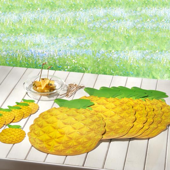 Ensemble 12 pièces Ananas Basilico