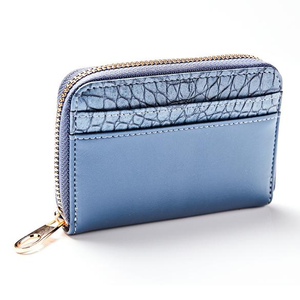 Porte-monnaie, bleu