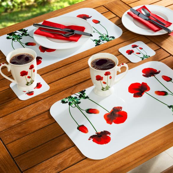 6 sets de tables + 6 dessous de verre