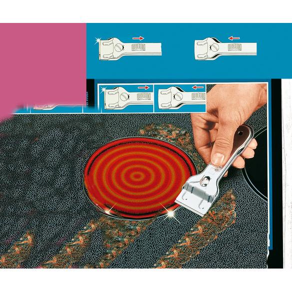 grattoir pour plaques vitroc ramiques vitrine magique. Black Bedroom Furniture Sets. Home Design Ideas