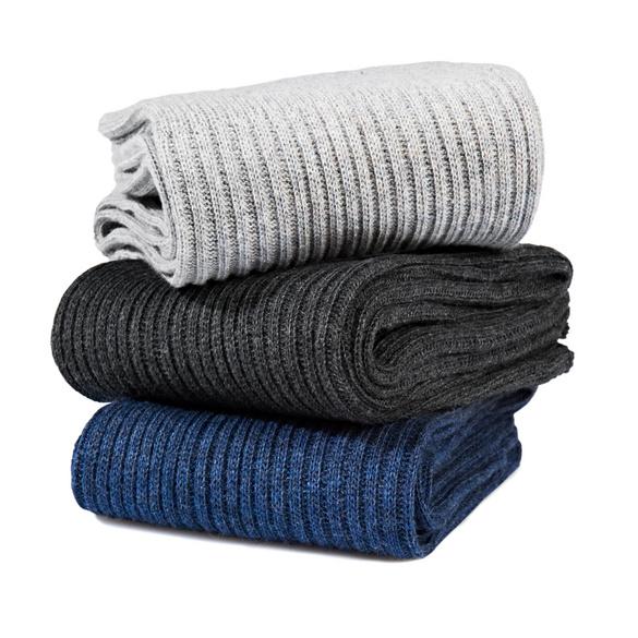 Chaussettes ultra-souples, 3 paires
