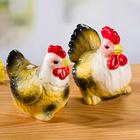 Salière et poivrière Coq et Poule