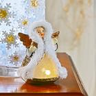Ange à LED, coloris doré