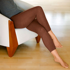 Leggings chauds, marron
