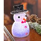 Bonhomme de neige à LED