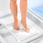 Tapis de douche, blanc