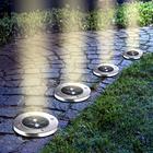 Lot de 4 spots solaires pour jardin