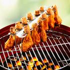 Support pour cuisses de poulet