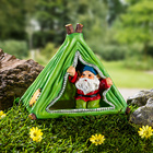 Nain avec tente solaire