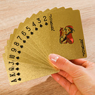 54 cartes dorées