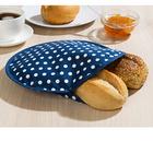 Réchauffe-pain spécial micro-ondes, bleu