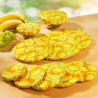 Lot de 10 couvre-plats fraîcheur Citron